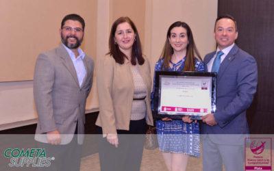 Recibe Cometa Supplies el Premio Nuevo León a la Competitividad 2019